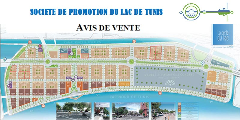 La Société de Promotion du Lac de Tunis lance un appel d'offres : La Perle du Lac