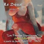 Exposition de peinture : Les femmes squatteuses