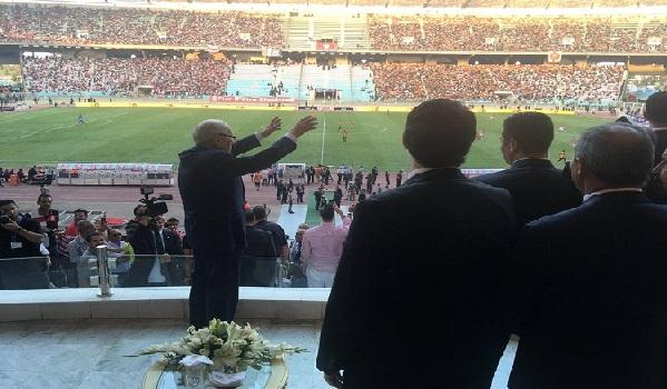 Beji Caied Essebsi donnera le coup d'envoi de la rencontre Tunisie-Libye