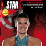 Oussama Mellouli le champion du Monde dans Star Mag !