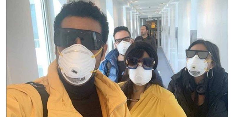 بالفيديو: فنانون يسخرون من فيروس كورونا