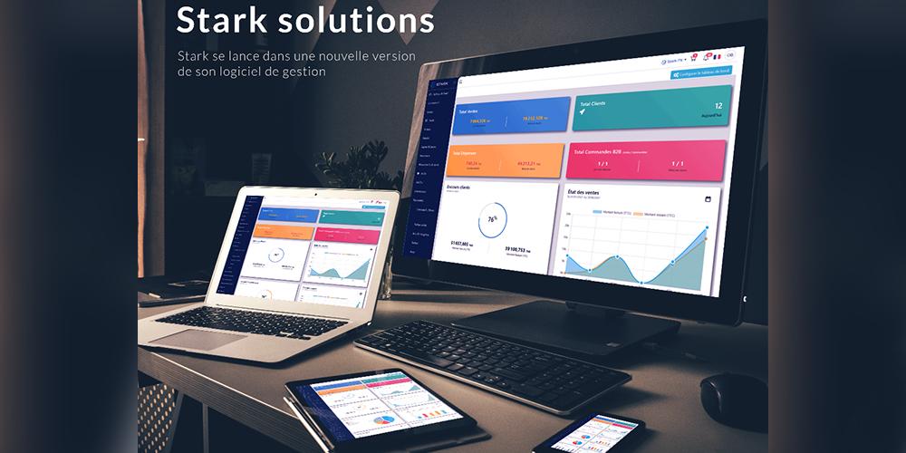 Stark Solutions se lance dans une nouvelle version de son logiciel de gestion