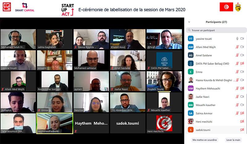 Octroi de Labels Startups pour la session de Mars 2020