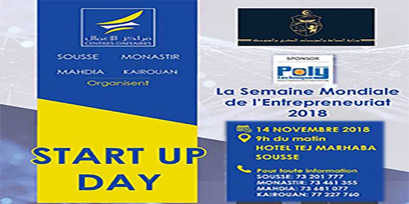 StartUpDay by les centres d'affaires