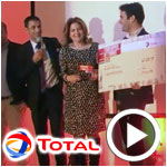 En vidéo : Soirée de clôture du challenge 'Startupper de l'année par Total '