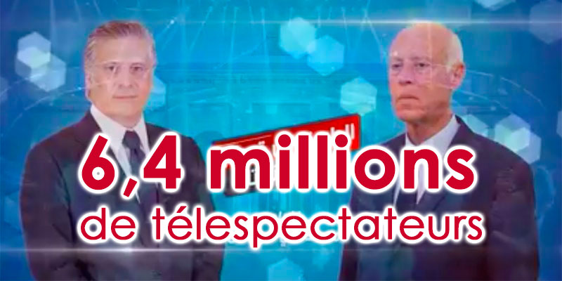 6,4 millions de Tunisiens ont regardé le débat