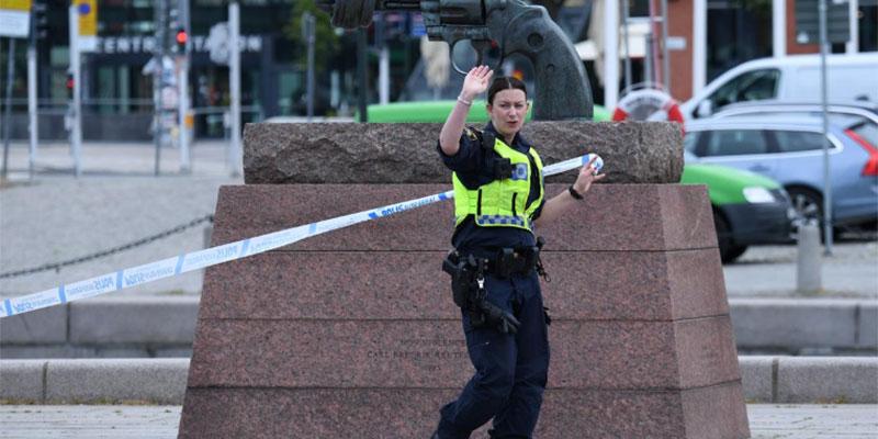 شرطة السويد تطلق النار على رجل في مالمو زعم أن بحوزته متفجرات