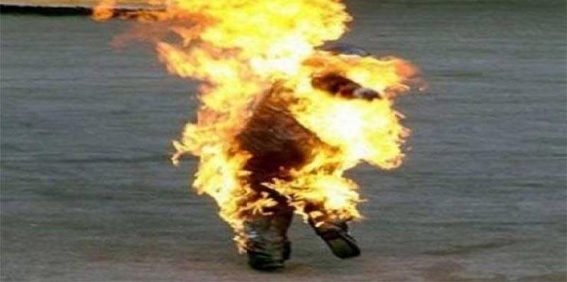 سيدي بوزيد: متزوج حديثا يضرم النار في جسده