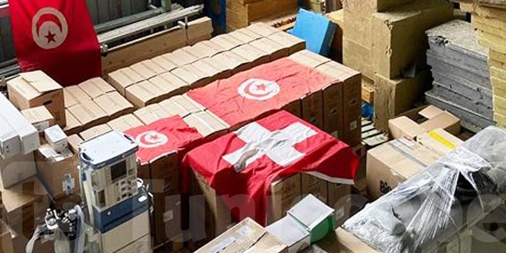 بمبادرة من أطباء تونسيين في سويسرا: مساعدات طبية لدعم المستشفيات