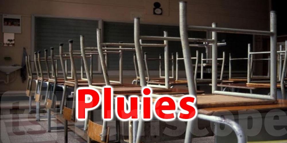 Nabeul : Suspension des cours dans des établissements scolaires à cause des pluies