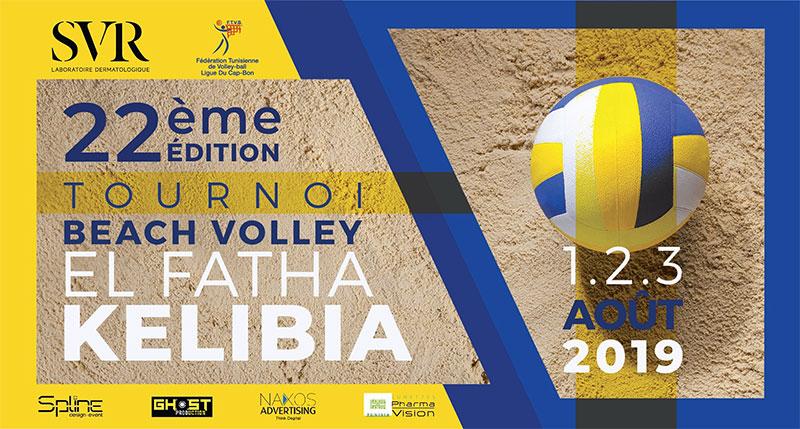 KELIBIA capitale du Beach Volley célèbre la 22ème édition de son célèbre tournoi EL FATHA
