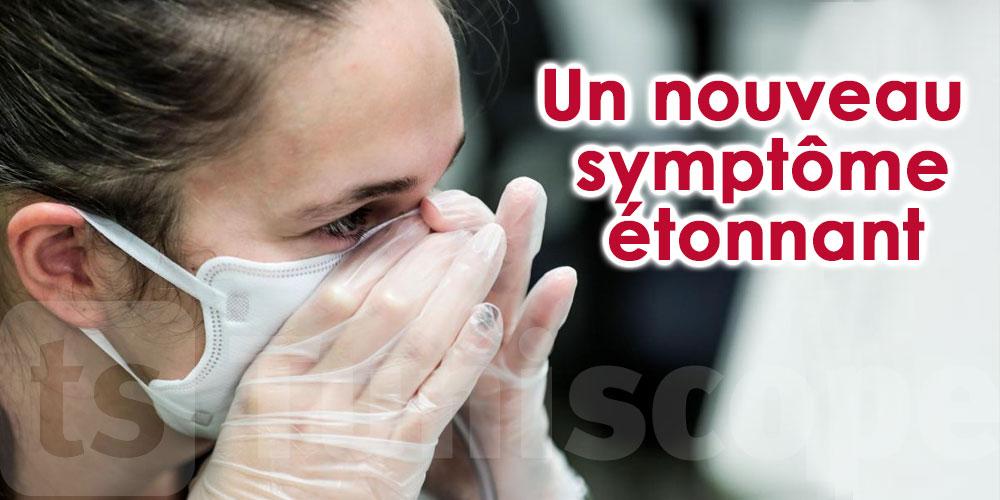 Un nouveau symptôme étonnant du coronavirus
