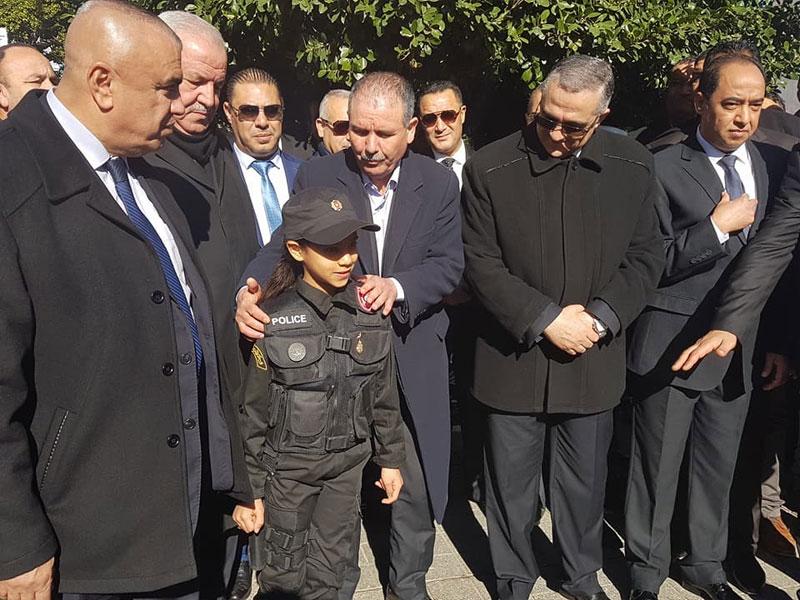 بالصور : نور الدين الطبوبي يواكب احياء النقابة الوطنية لقوات الأمن الوطني للذكرى السابعة للثورة التونسية