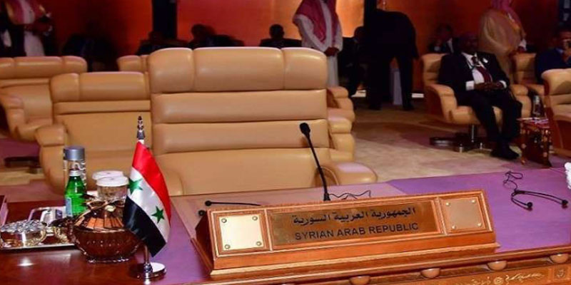عودة سوریا الى الجامعة غیر مدرجة على جدول قمة تونس