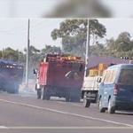 حجز 7 شاحنات محملة بمواد مهربة في القيروان