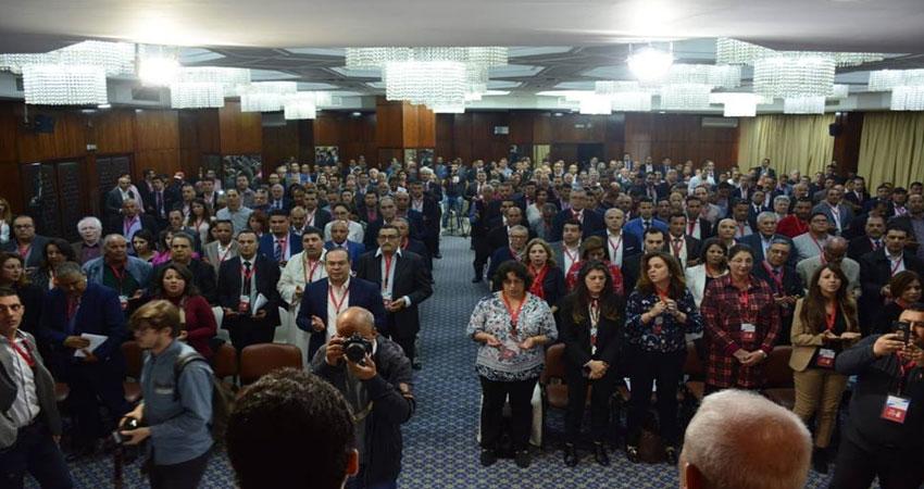 انطلاق اشغال مؤتمر تحيا تونس بتلاوة الفاتحة على ارواح ضحايا حادث السبالة