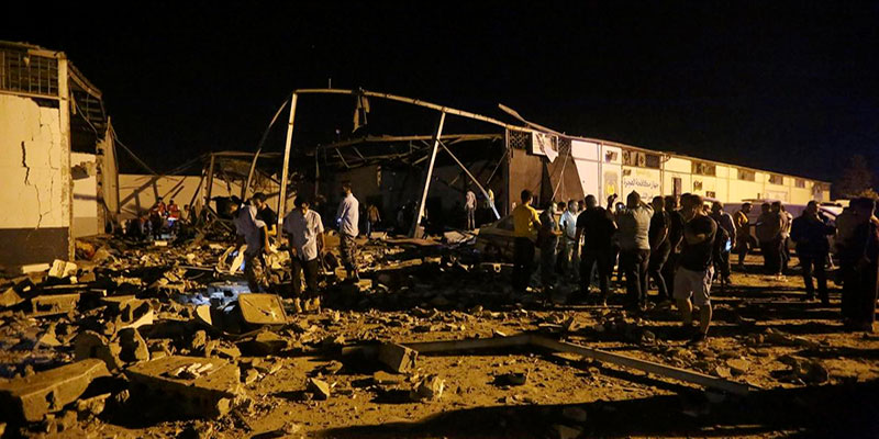 Les Etats-Unis refusent de condamner l'attaque contre un centre de migrants faisant 44 morts et 130 blessés en Libye