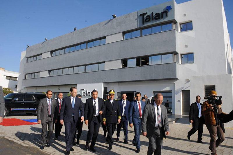 Youssef CHAHED pose la première pierre du nouveau site de développement TALAN