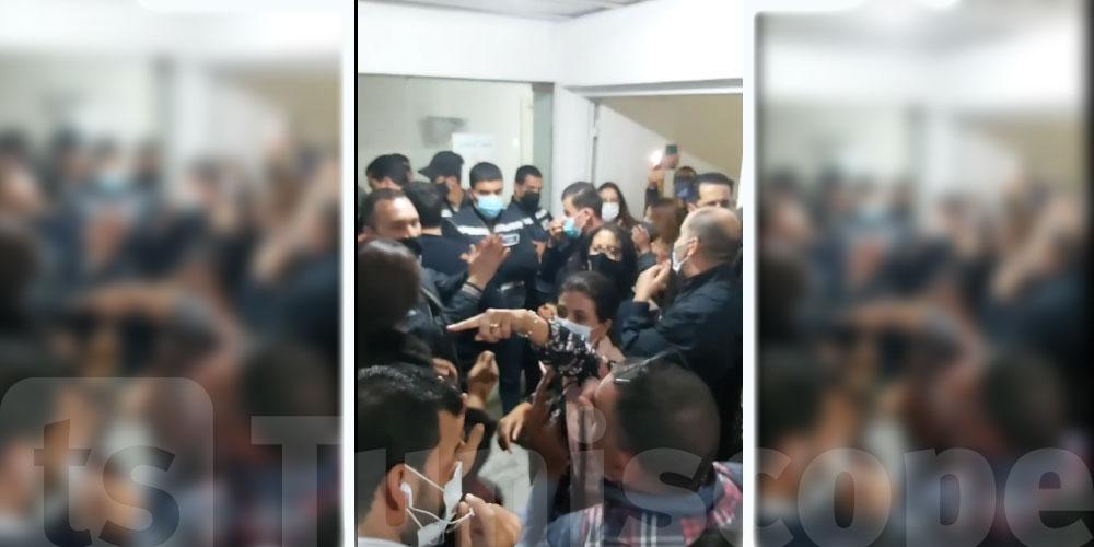 En vidéo : Si-in de la TAP, les journalistes agressés