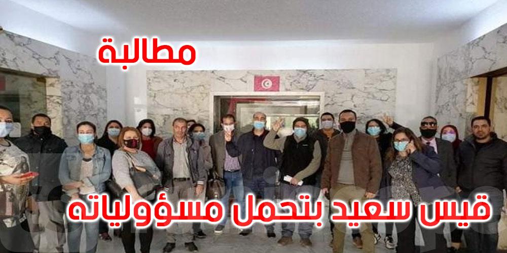 وكالة تونس إفريقيا للأنباء تقاطع أنشطة الحكومة والأحزاب الداعمة لها