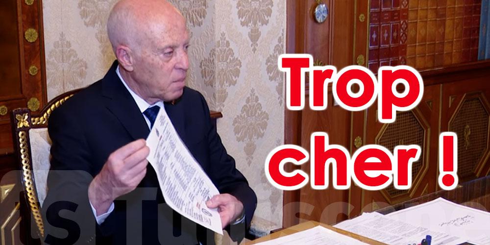 Kais Saied furieux contre les nouveaux tarifs consulaires ?