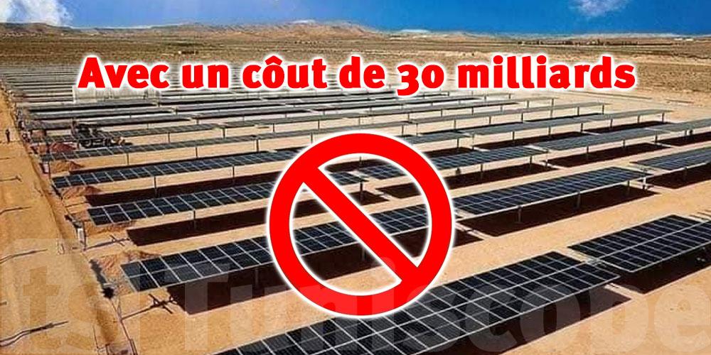 Coutant 30 milliards, un projet d'énergie solaire délaissé à Tatouine