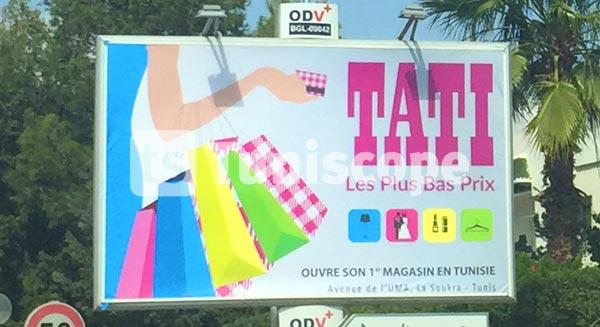 TATI confirme l'ouverture de son premier magasin en Tunisie et lance sa campagne
