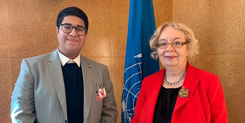 Le projet de Amir Fehri soutenu par le bureau onusien à Genève
