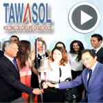 En vidéo : Démarrage de négociation de TAWASOL GROUP HOLDING à la Bourse de Tunis