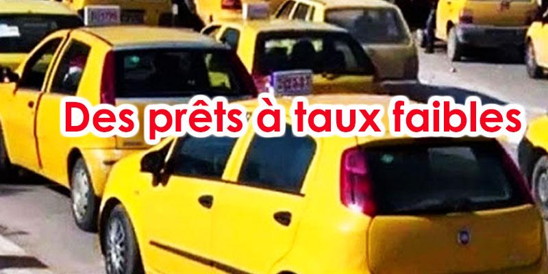 Des prêts à faible taux pour les taxis