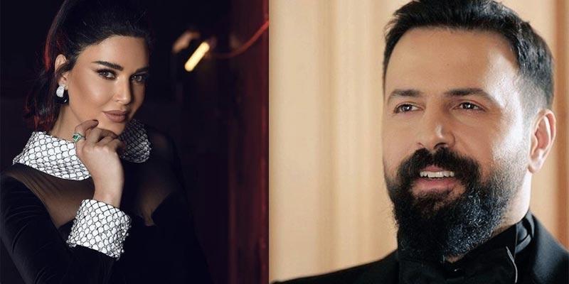 أول صورة رومانسية من كواليس ''الهيبة'' بين تيم حسين وسيرين عبد النور