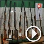 بالفيديو : تفكيك شبكة مختصة في تجارة أسلحة الصيد