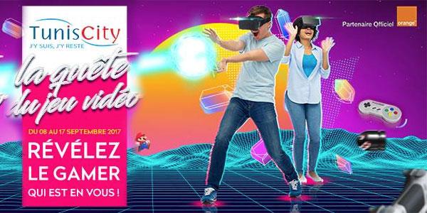 Tunis City invite les Gamers pour la quête du jeu vidéo du 8 au 17 septembre
