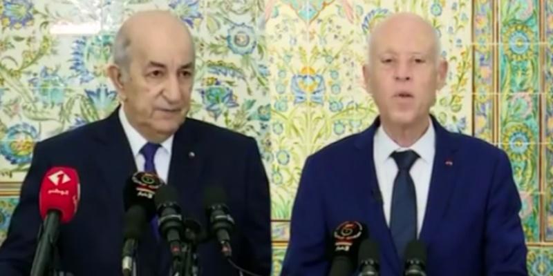 الرئيس الجزائري: أمن واستقرار تونس يعني أمن واستقرار الجزائر