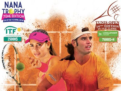 En vidéos : Coup d'envoi de la 7ème édition du Nana Trophy et du Tunis Open