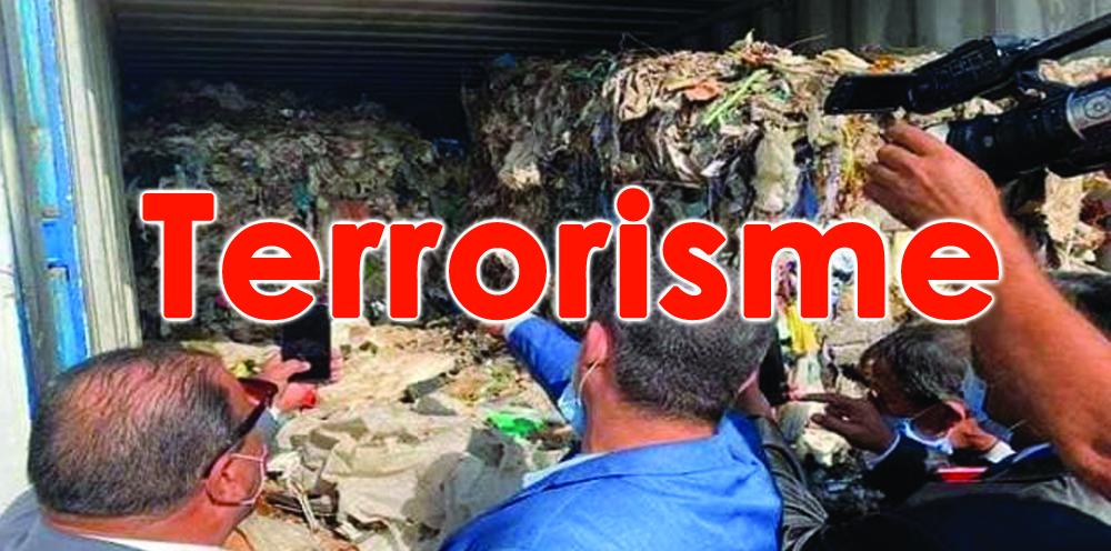 L'importation des déchets italiens est officiellement une affaire terroriste