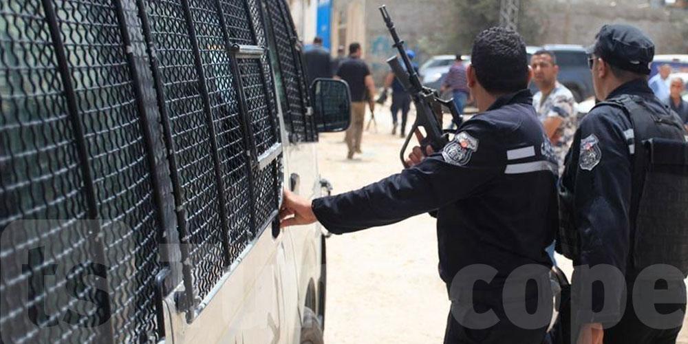 Arrestation d'un takfiriste alors qu'il guettait les mouvements des agents de sécurité