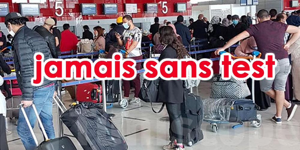 Habib Ghedira : La Tunisie fournira les tests aux Tunisiens venus sans analyses