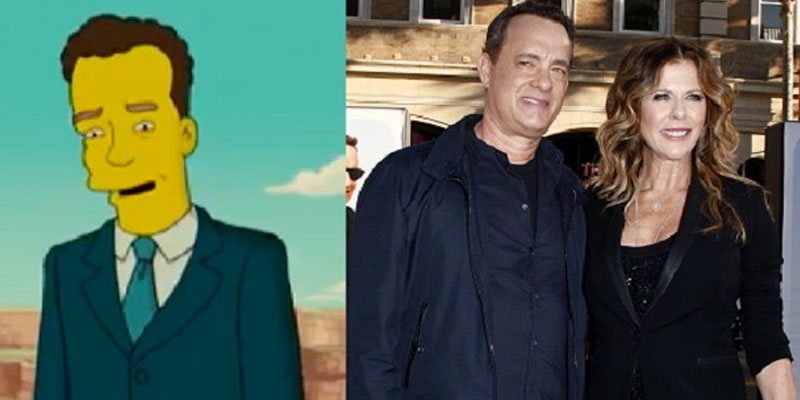Les Simpsons avaient prédit la contamination de Tom Hanks en 2007