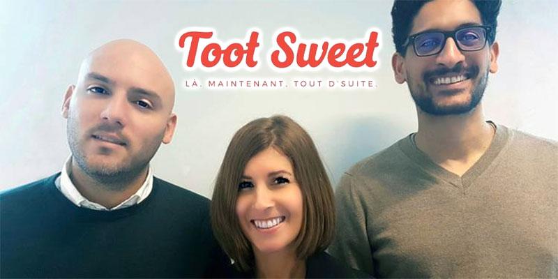 Deux Tunisiens lèvent 1 million d'euros pour la startup Toot Sweet