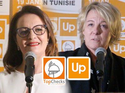 En vidéos : Le groupe Up s'implante en Tunisie avec l'acquisition de Top Checks