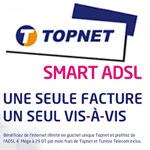 TOPNET lance l'offre Smart Adsl : Une seule facture, un seul vis à vis