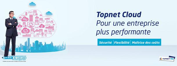Topnet Cloud : Un nouveau portail pour la vente des solutions Cloud en ligne