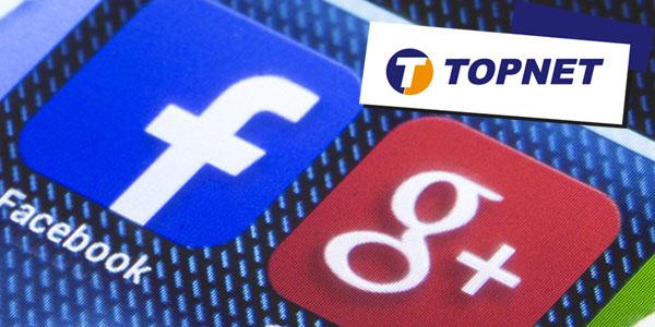 TOPNET conclut des accords de partenariat avec les deux géants de l'internet : Google et Facebook