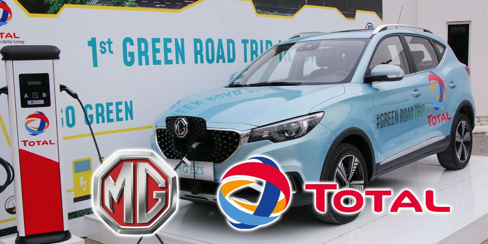 En vidéo: ''Road Trip'' 100% électrique by TOTAL Tunisie & MG MOTORS