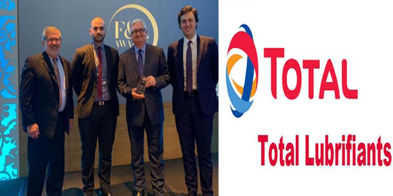 Total Lubrifiants reçoit un prix international pour sa gamme innovante TOTAL QUARTZ EV FLUID