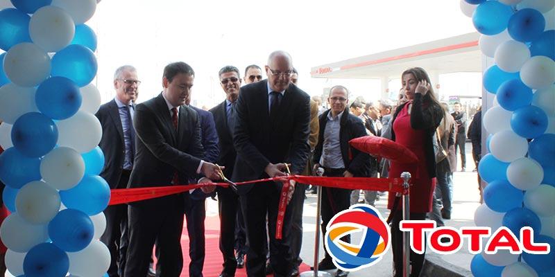 En vidéos: Total et Ennakl automobiles inaugurent  ''VOLKSWAGEN EXPRESS SERVICE'' à Soliman