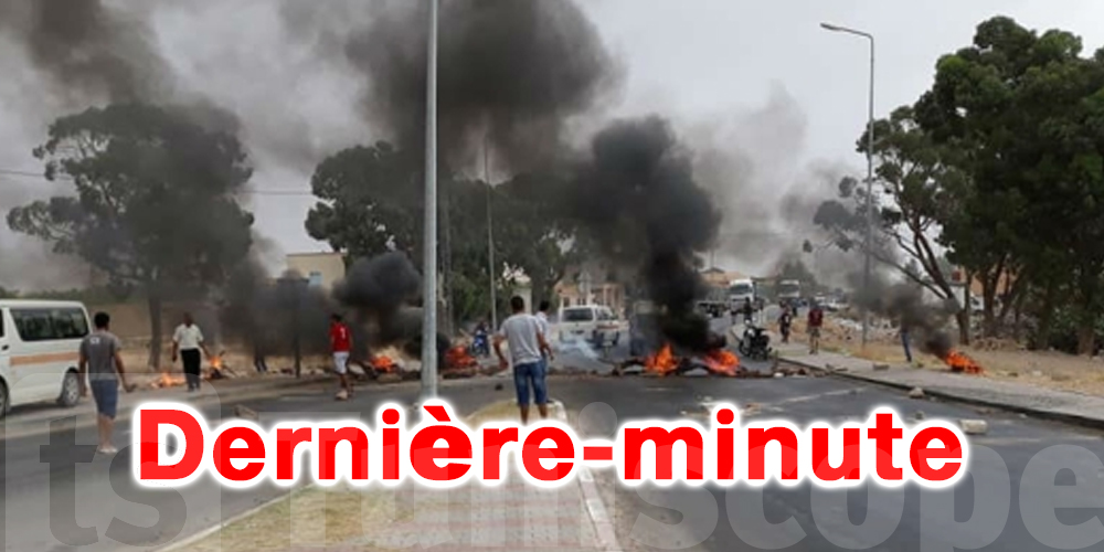 Tunisie : Des agriculteurs ferment les routes
