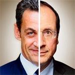 Hollande à 29,2 et Sarkozy à 27,3% passent au 2ème tour