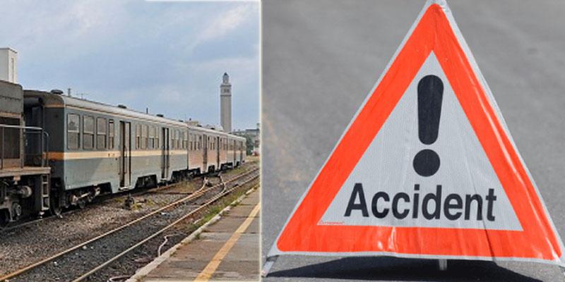 Une collision entre un train et une voiture fait 4 blessés à Monastir